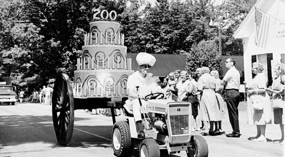 200th Anniversary Cake in Madbury Day Parade, 1968.
